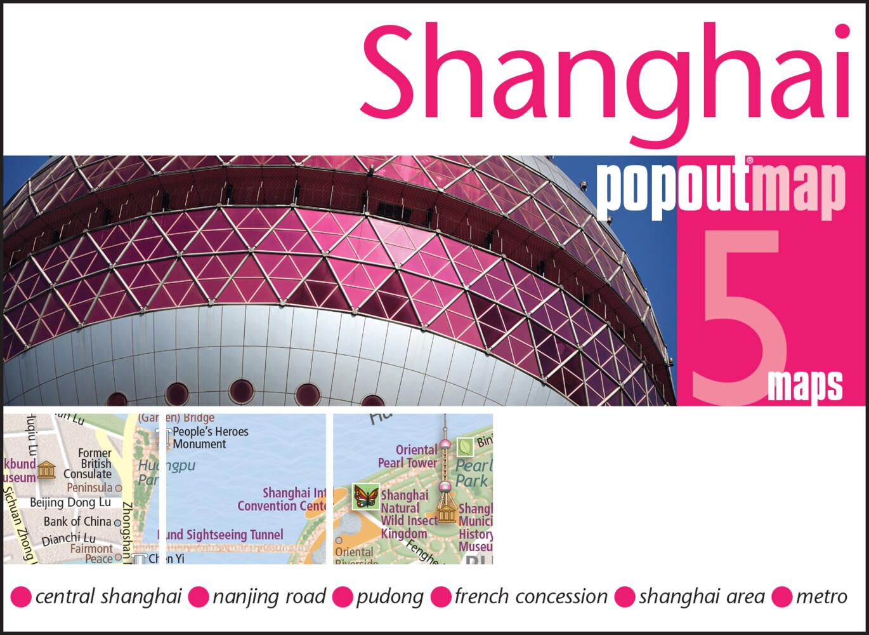 Shanghai PopOut Map als Buch von