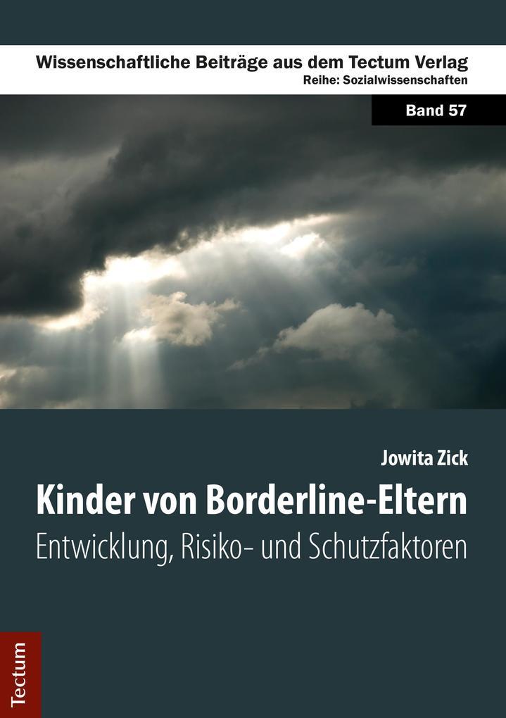Kinder von Borderline-Eltern als eBook Download...