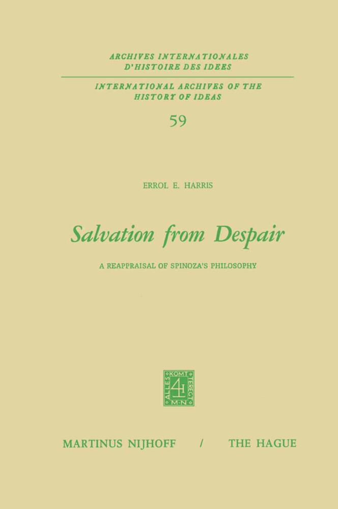 Salvation from Despair als Buch