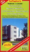 Gartenreich Dessau-Wörlitz, Lutherstadt Wittenberg und Umgebung. Ausflugskarte