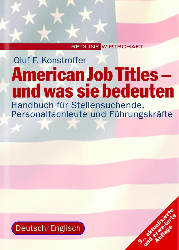 American Job Titles - und was sie bedeuten als eBook