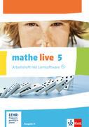 mathe live. Arbeitsheft mit Lösungsheft und Lernsoftware 5. Schuljahr. Ausgabe N