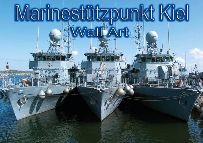 Marinestützpunkt Kiel - Wall Art (Tischaufstell...
