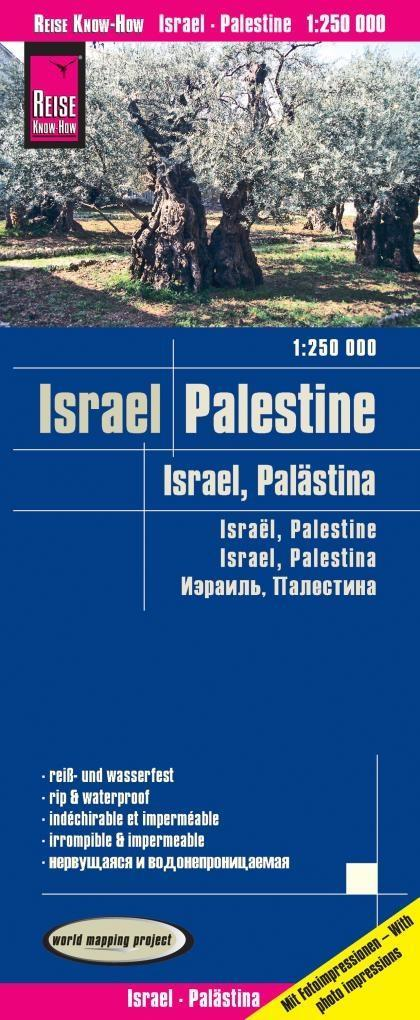 Reise Know-How Landkarte Israel, Palästina 1 : ...