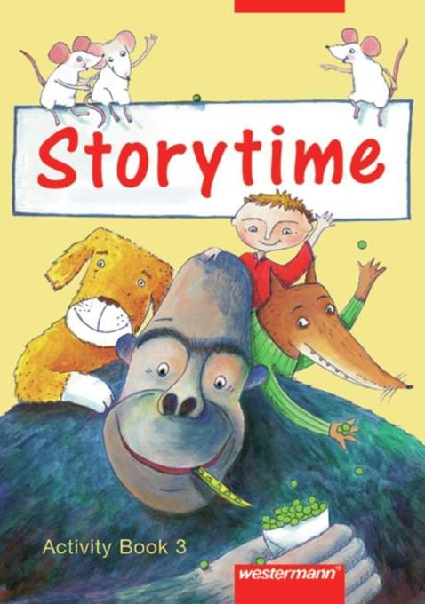 Storytime 3. Activity Book als Buch