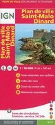 Saint Malo Dinard Plan de Ville 1 : 10 000
