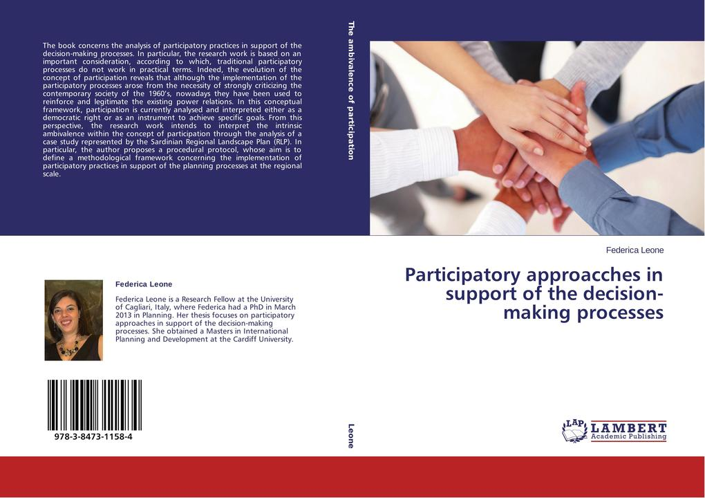 Participatory approacches in support of the dec...