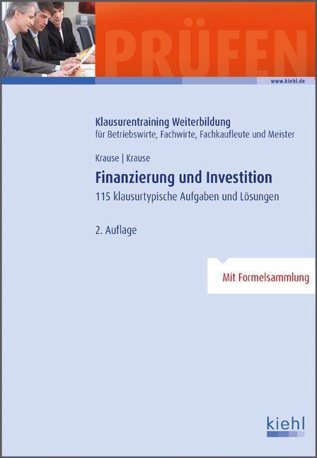 Finanzierung und Investition als Buch von Günte...