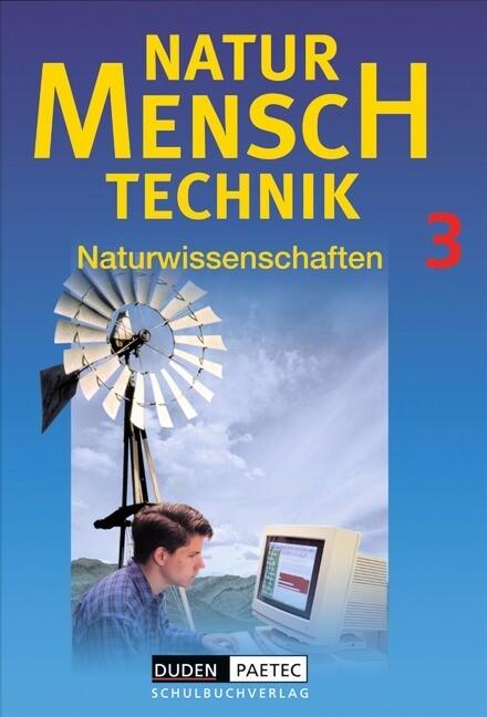 Natur, Mensch, Technik 3 als Buch