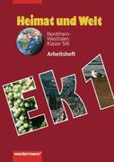 Heimat und Welt 1. Arbeitsheft. Nordrhein-Westfalen 5/6. Schuljahr