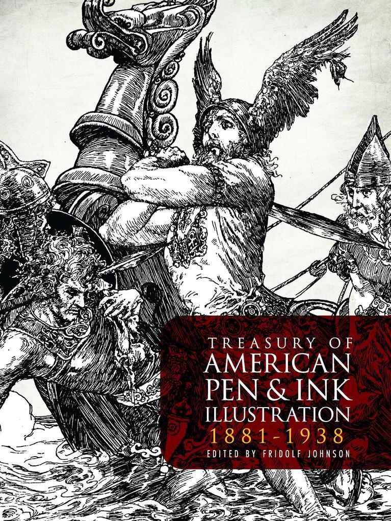 Treasury of American Pen & Ink Illustration 188...