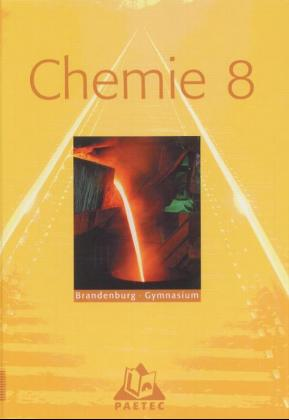 Chemie 8. Brandenburg. Gymnasium als Buch