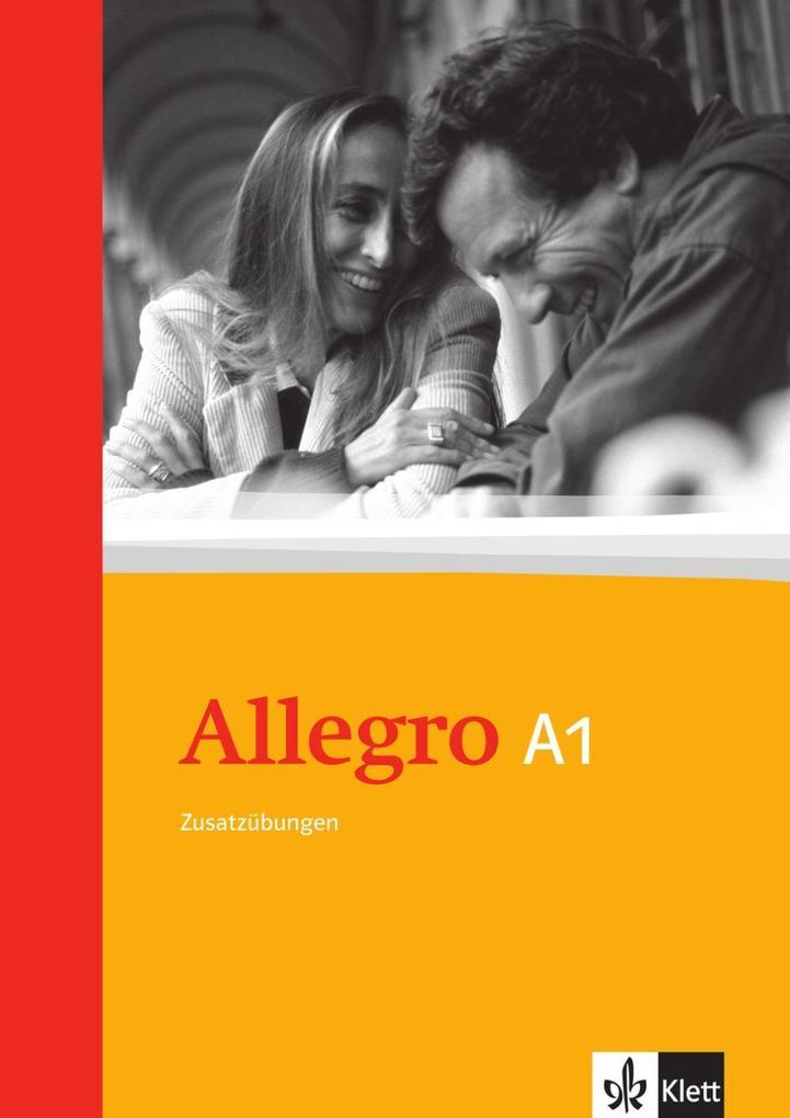 Allegro 1. Grammatische Zusatzübungen. Mit Lösungen als Buch