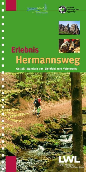 Erlebnis Hermannsweg - Ostteil als Buch von Hor...