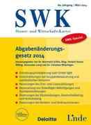 SWK-Spezial Abgabenänderungsgesetz 2014