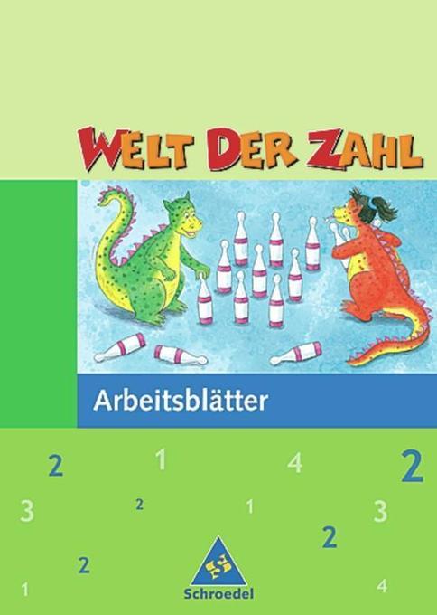 Welt der Zahl 2. Arbeitsheft. Nordrhein-Westfalen als Buch
