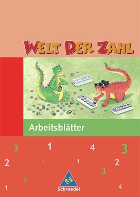 Welt der Zahl 3. Arbeitsheft. Nordrhein-Westfalen als Buch
