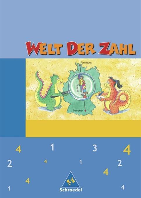 Welt der Zahl 4. Schülerband. Nordrhein-Westfalen als Buch
