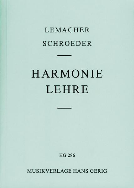 Harmonielehre als Buch