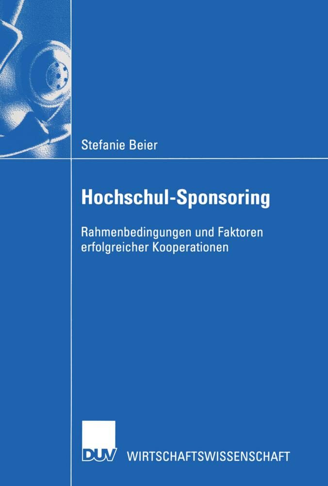 Hochschul-Sponsoring als Buch