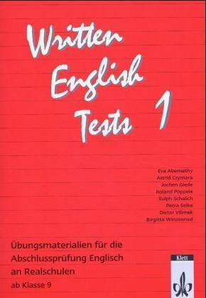 Written English Tests 1 als Buch