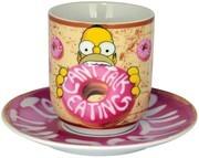 """The Simpsons - Tasse mit Untertasse """"Donut"""""""