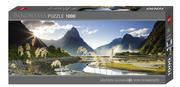 Heye - Panoramapuzzle 1000 Teile - Milford Sound 1000 Teile