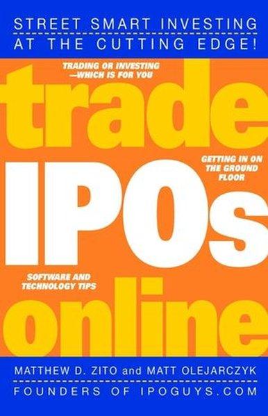 Trade IPOs Online als Taschenbuch