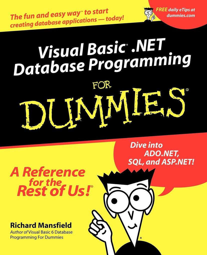 Visual Basic.Net Database Programming for Dummies als Buch