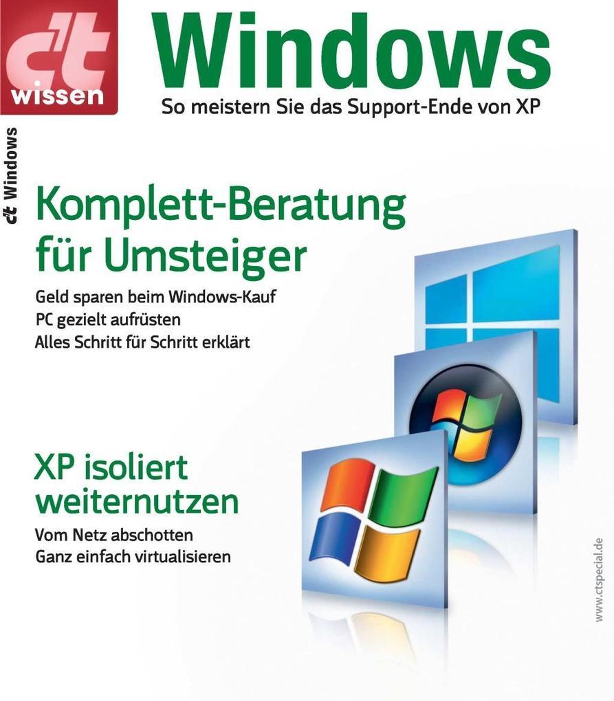 c´t wissen Windows als eBook Download von c´t-R...