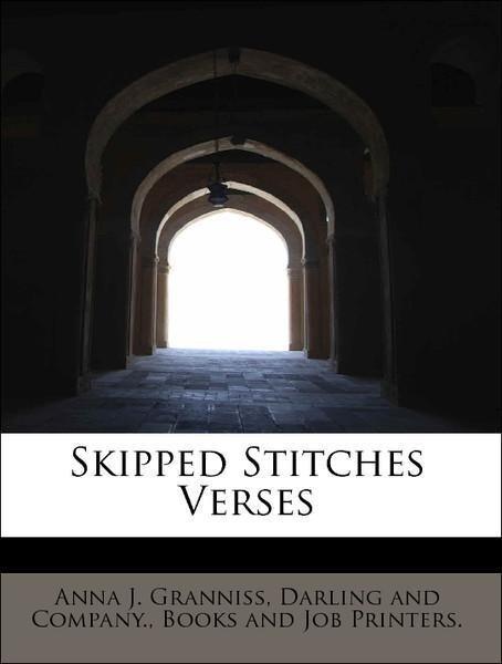 Skipped Stitches Verses als Taschenbuch von Ann...