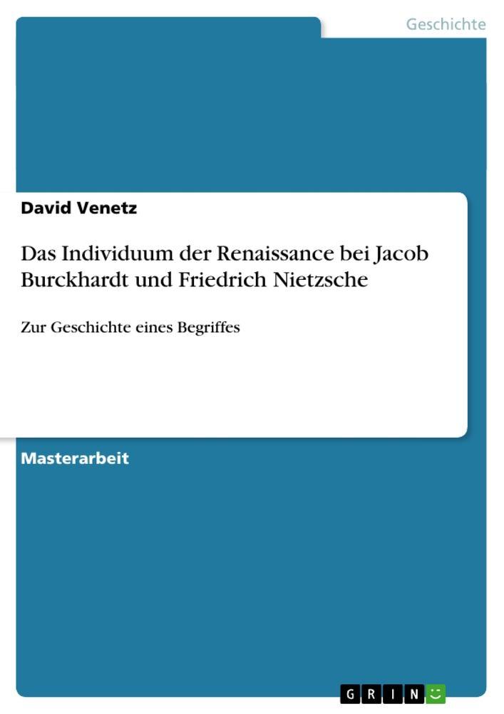 Das Individuum der Renaissance bei Jacob Burckh...