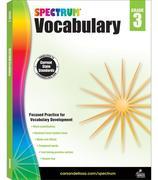 Spectrum Vocabulary, Grade 3