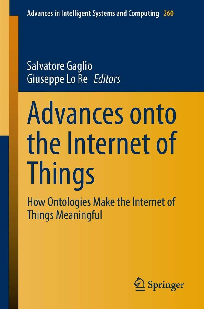 Advances onto the Internet of Things als eBook ...