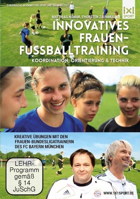 Innovatives Frauenfußballtraining