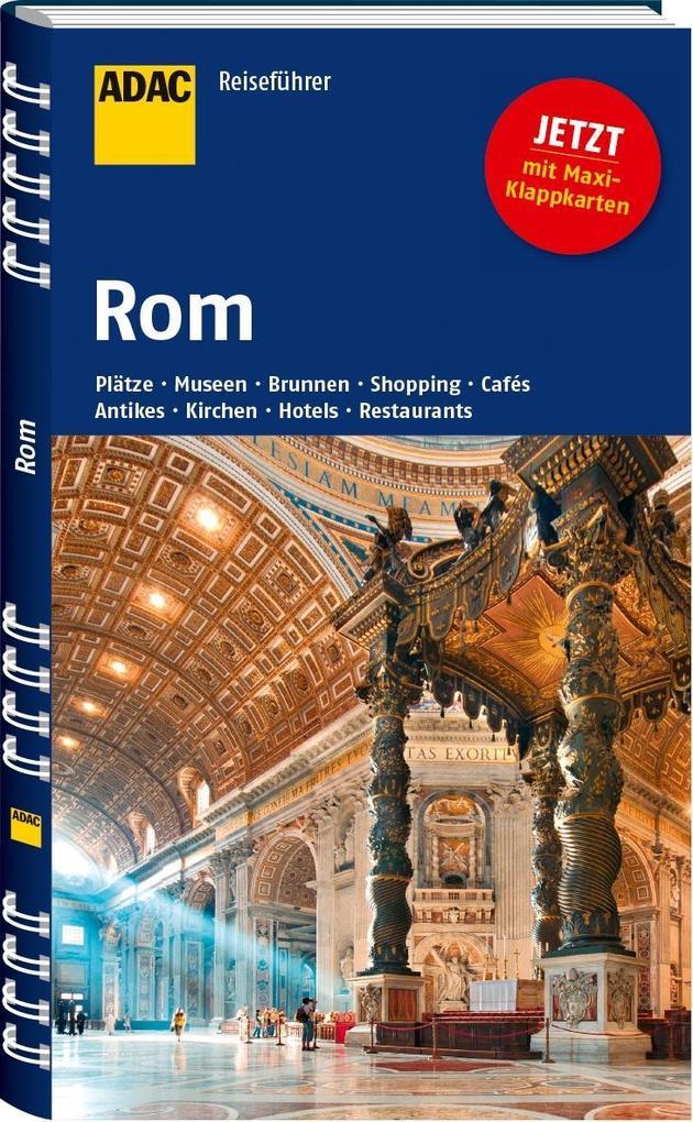 ADAC Reiseführer Rom als Buch von Herbert Rosen...