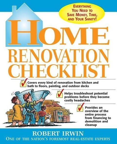 Home Renovation Checklist als Taschenbuch