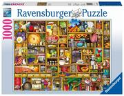 Ravensburger Puzzle - Kurioses Küchenregal, 1000 Teile