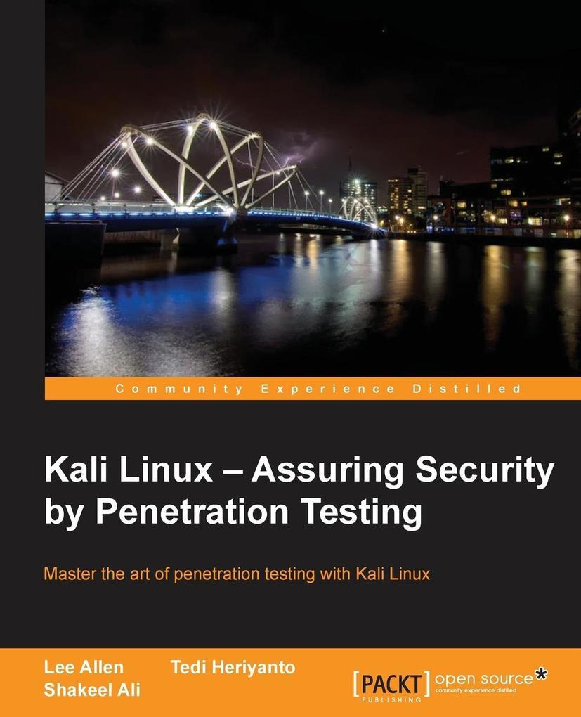 Kali Linux als Buch von Tedi Heriyanto, Lee Allen
