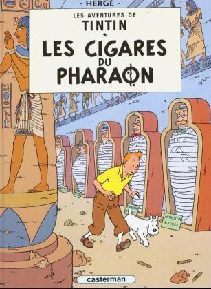 Les Aventures de Tintin 04. Les cigares du pharaon als Taschenbuch