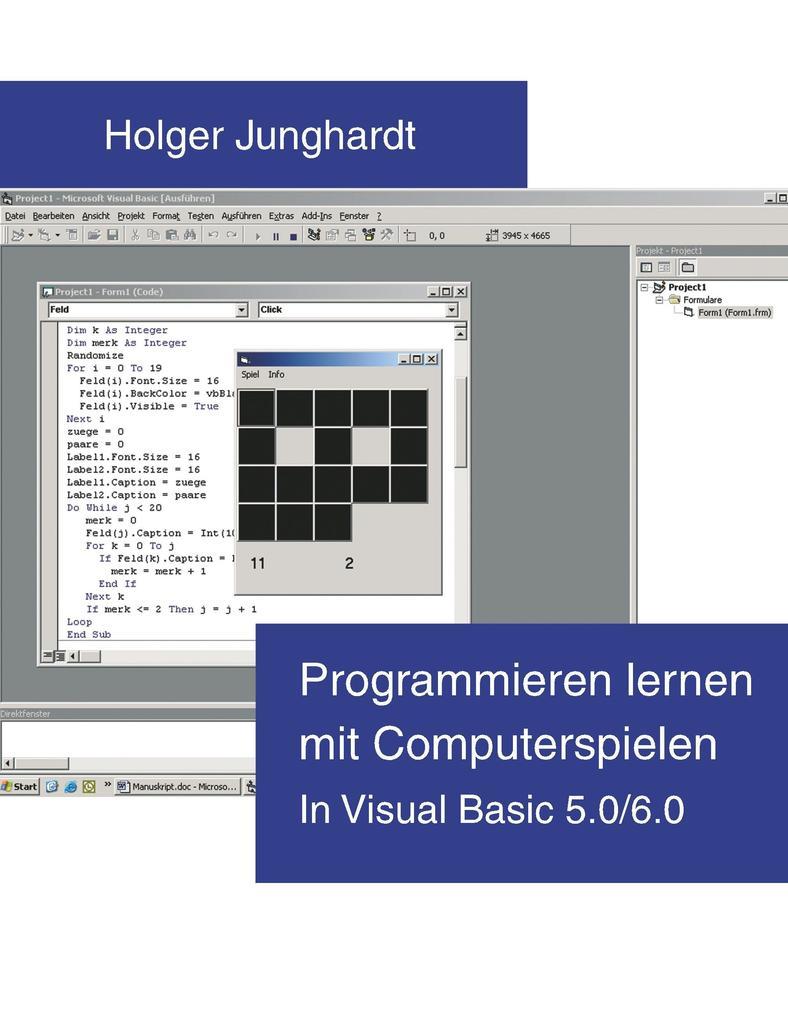 Programmieren lernen mit Computerspielen als Buch