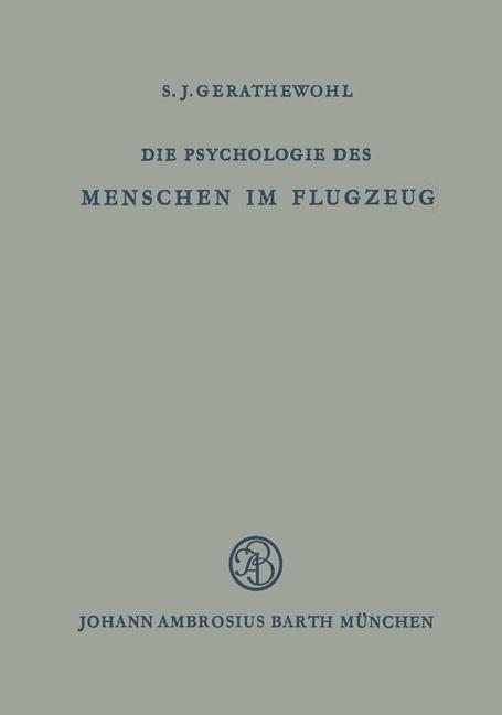 Die Psychologie des Menschen im Flugzeug als Bu...