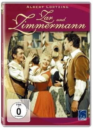 Zar und Zimmermann als DVD