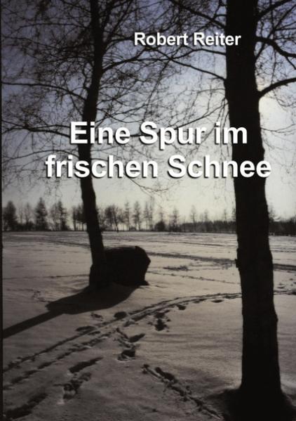 Eine Spur im frischen Schnee als Buch