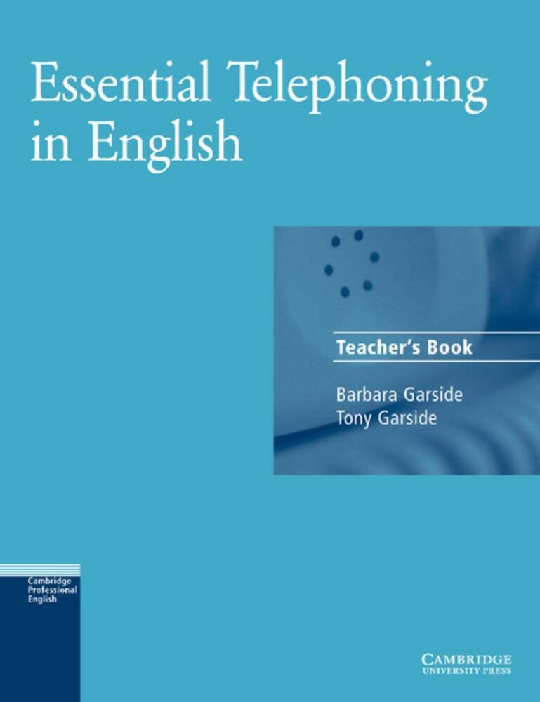 Essential Telephoning in English. Teachers Book als Buch