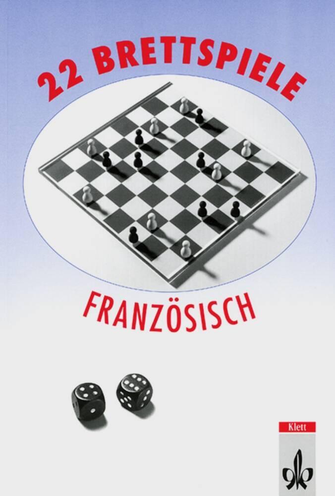 22 Brettspiele Französisch als Buch (kartoniert)