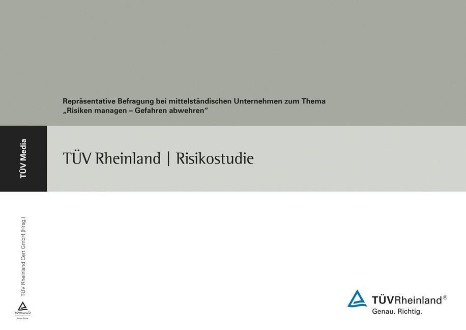 TÜV Rheinland-Risikostudie (E-Book, PDF) als eB...