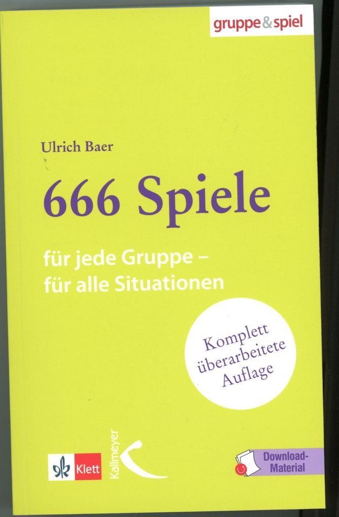 666 Spiele als Buch