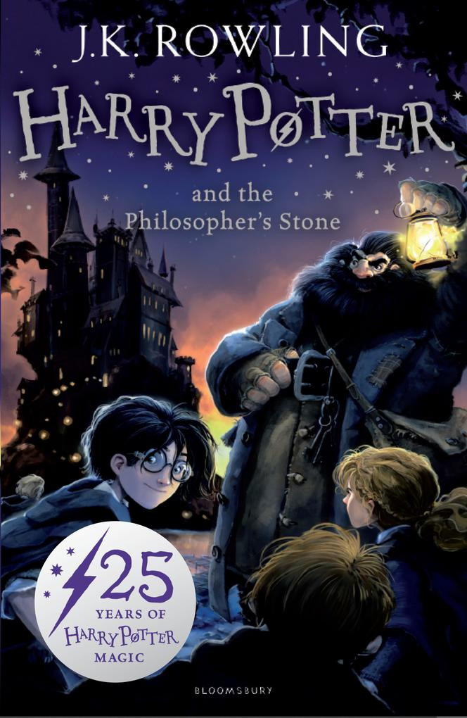 Harry Potter 1 and the Philosopher's Stone als Taschenbuch