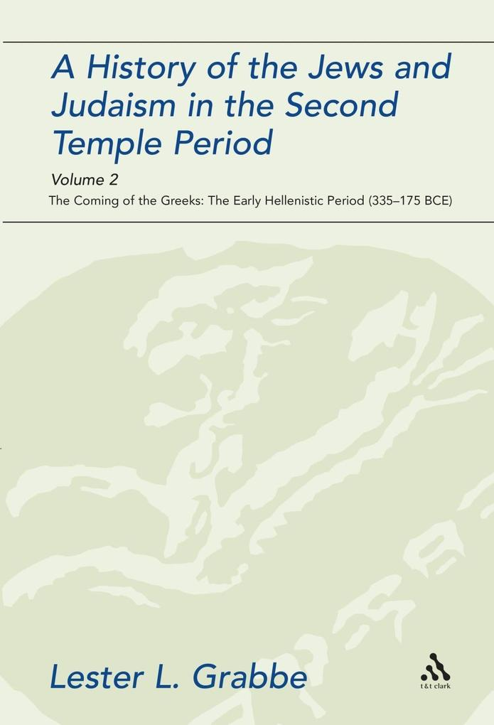 History of the Jews and Judaism in the Second T...